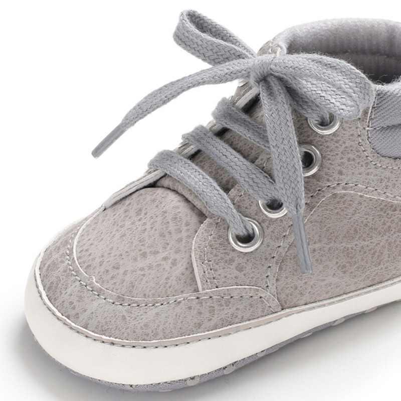 Обувь для мальчика новая классическая парусиновая обувь для новорожденных мальчиков мягкая детская обувь для первых шагов детская обувь