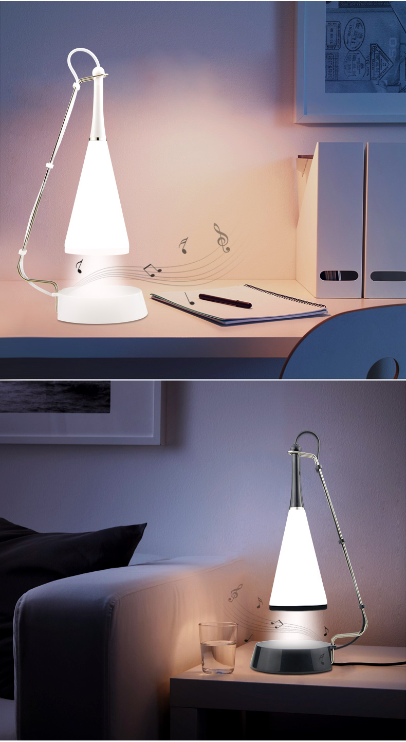 Lights & Lighting Countryside Touch On/off Book Lights Bedside Led Night Lamp Wireless Speaker Music Table Lamp Usb Rechargeable Power Book Lights