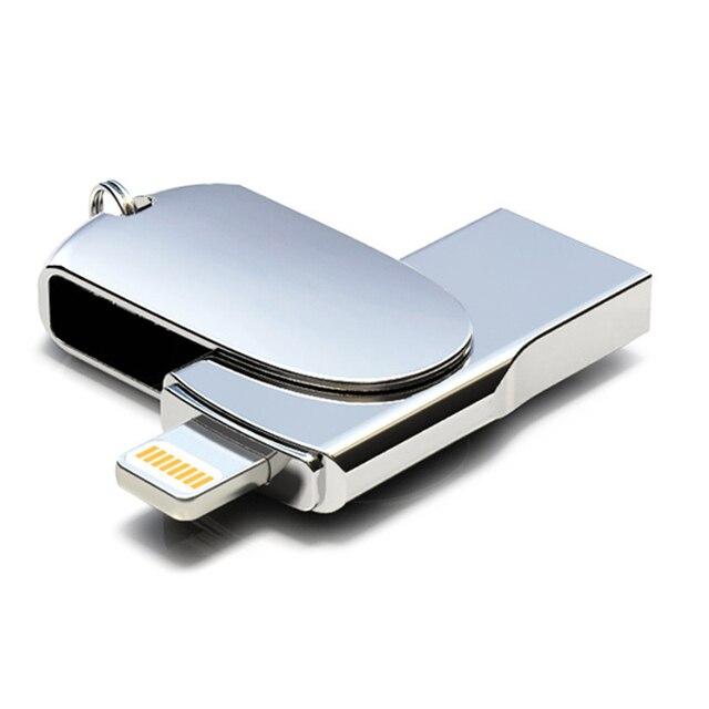 신규 한 Lightning USB Flash Drive 256 GB 128 GB Pendrive Memory Stick 대 한 iPhone USB Flash 펜 드라이브 (ssd) U Stick 대 한 iPad iPod