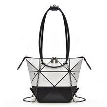 Fashion Women Bag Geometric Fold Over Crossbody Bags for Women Variety Ladies Designer Shoulder Bag Women Folded Handbags