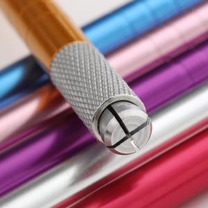 Image 4 - Microblading קעקוע מכונת כלים קעקוע קבוע קעקוע גבות איפור עט ידני ידית ריס מיני ידני כלים