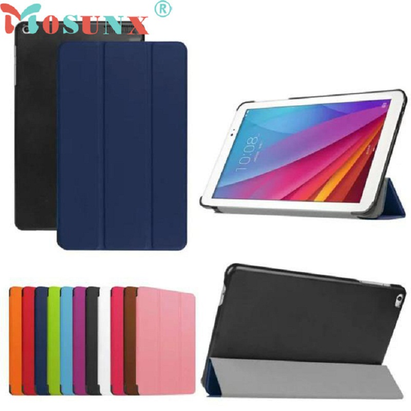 1PC NEW Slim PU Leather Case Stand Cover For Huawei Mediapad T1 10 T1-A21w 9.6 Tablet free shipping new 10 1 original stand magnetic leather case cover for lenovo ibm thinkpad 10 tablet pc with sleep function