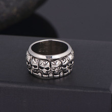 Cycle Gothic Skull Ring