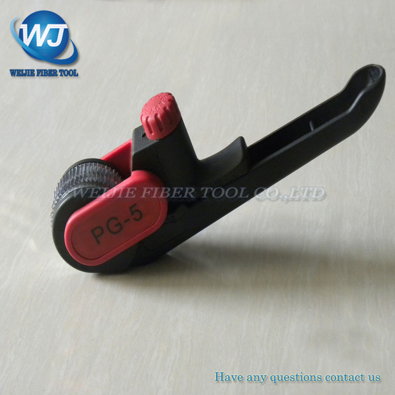 PG-5 Fiber optic cable insulation stripper
