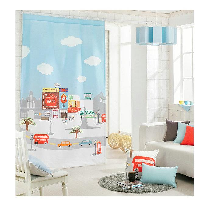 los nios del beb nios habitacin japons corea del estilo nrdico listo cortina de puerta cortina