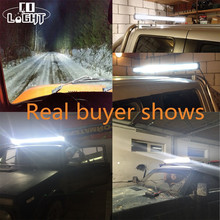 CO LIGHT 22″ 32″ 42″ 50″ 52″ Curved LED Light Bar 8D 12V 24V Spot Combo Led Bar Auto Work Light for Offroad Boat 4×4 ATV Focos