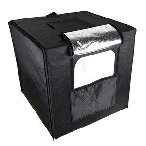 Image 3 - GODOX Photo Studio LED MiNi oświetlenie fotograficzne box namiot LSD 40/60/80 LST 40/60/80 z 2/3 listwy świecące LED fotografia tło