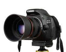 Kelda 85 мм F1.8-F22 Ручная Фокусировка Портретный Объектив Камеры Объектив для Canon EOS 550D 600D 700D 5D 6D 7D 60D DSLR камеры