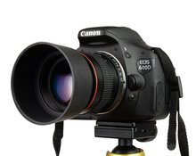 Kelda 85mm f1.8-f22 manueller fokus porträt kameraobjektiv für canon eos 550d 600d 700d 5d 6d 7d 60d dslr kameras(China (Mainland))
