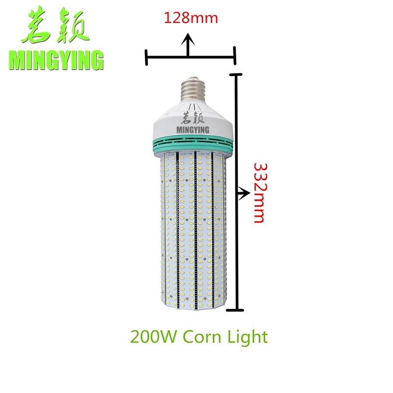 цена на Led Corn Bulb,Street Light, E40 150w 200w Bulb,Super Bright 2835 85-265v Instead Of 400W Metal Halide Lamp CE ROHS FCC EMC LVD