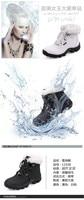женщины бег обувь спорт натуральная кожа, поход зима, альпинизм оборудование резина сапоги