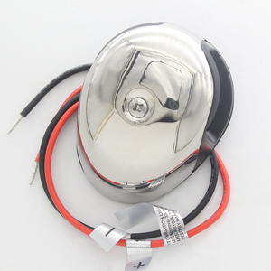 Image 1 - Dwukolorowa dioda LED światło nawigacyjne ze stali nierdzewnej 12 V łódź morska jacht czerwony zielony Port na prawą burtę światła