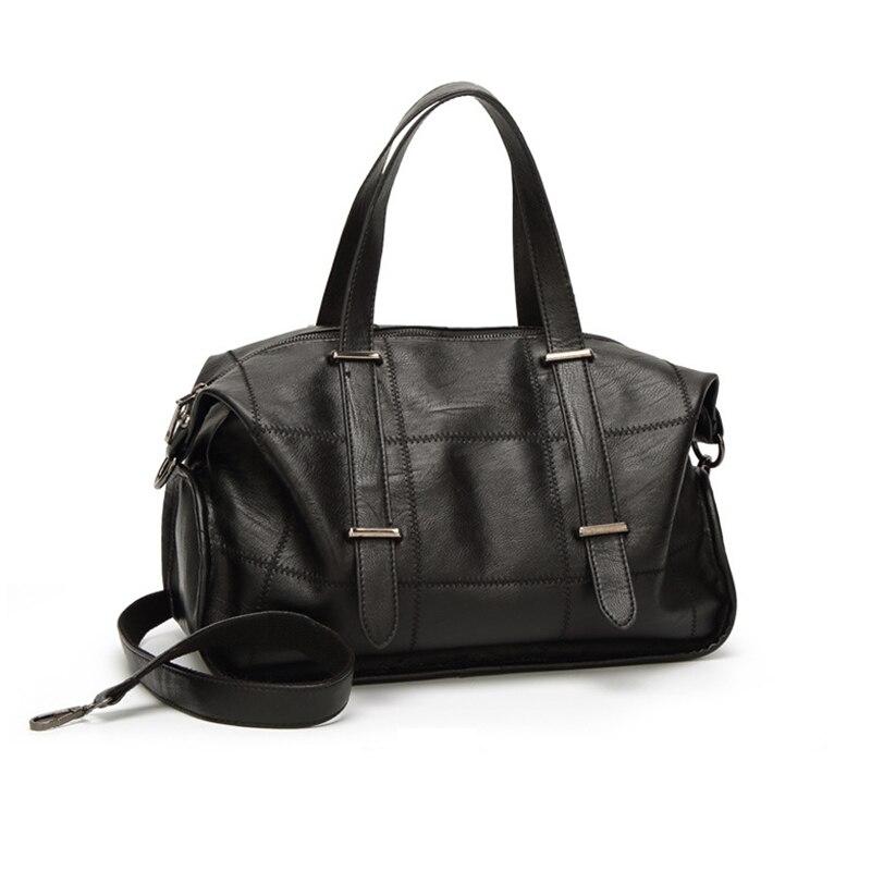 Миниатюрный скидка 2018 Роскошные Для женщин из натуральной кожи сумка женская Портфели сумка на молнии через плечо сумочка
