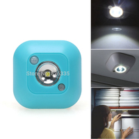 Mini Battery Powered Wireless Motion Activated Sensor Wall LED Night Light For Emergency