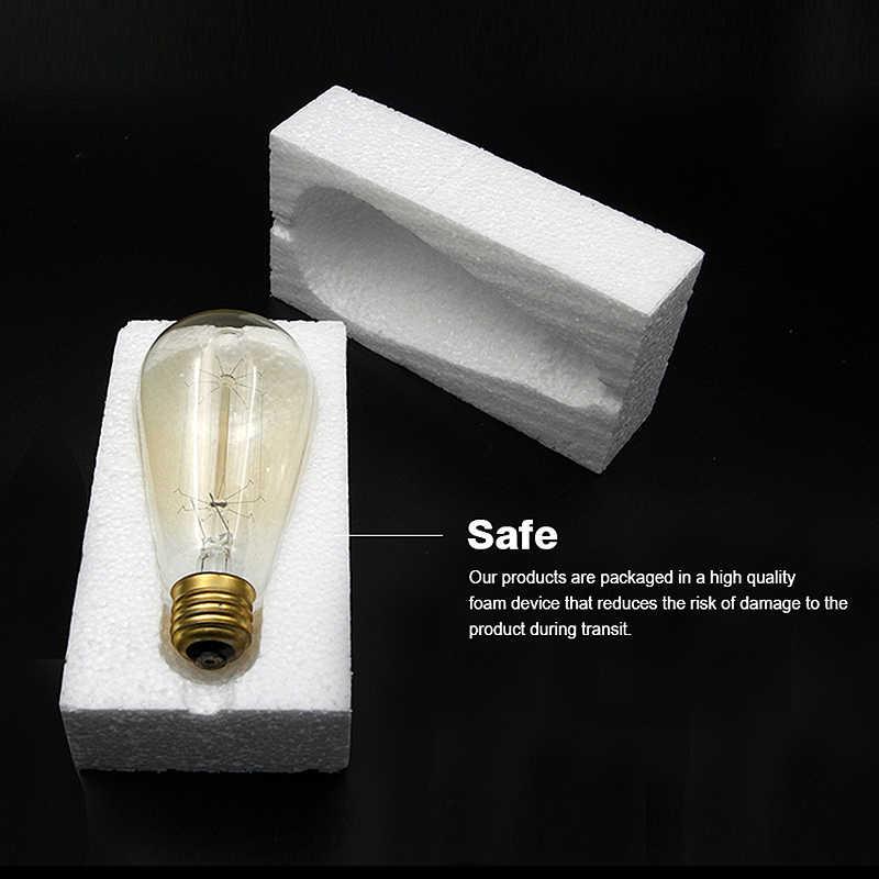 W stylu Vintage żarówka edisona E27 ST64 T10 T45 G80 G95 40W żyrandol wisiorek światła 220V lampa LED żarówka lampy liny uchwyt na E27