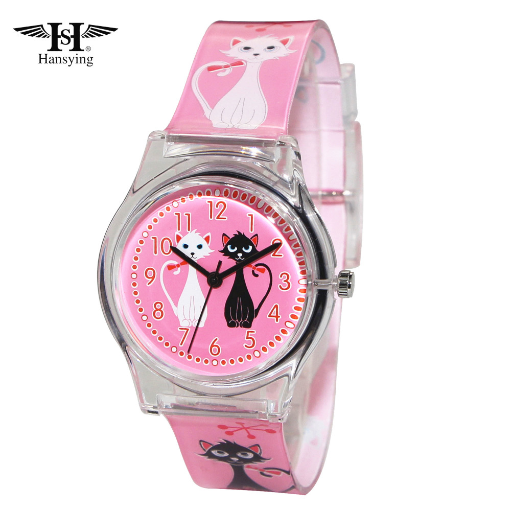 New Arrival Hansying Brand MiNi Cat Design Women Quartz Waterproof Watch Ladies Girls Famous Brand Wrist Watch Clock Reloj