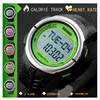Fashion Outdoor Sports Watches Pedometer Heart Rate Monitor Calories Counter Digital Watch Sport Fitness Men Women