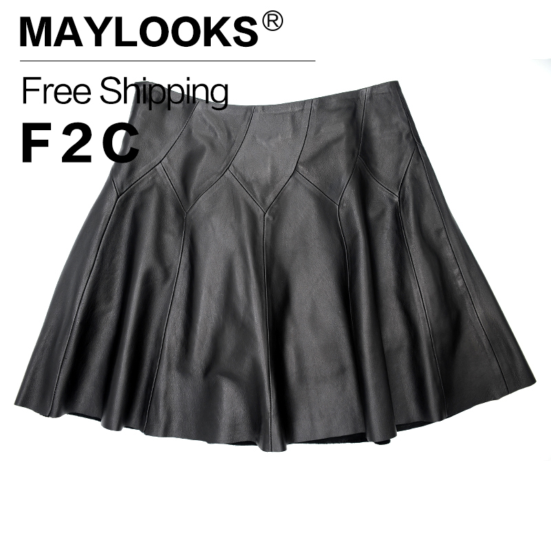 Ladies Leather Skirt Promotion-Shop for Promotional Ladies Leather ...