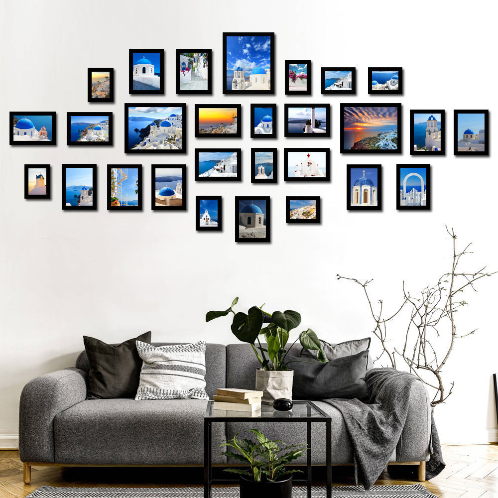 28 Pcs Nordic Style Photo Frame Photo For Wall Art Frame Picture Cheap Picture Frames Set For Living Room Sofa Background Frame Aliexpress
