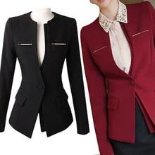2017 New Plus size Women Jackets Spring Autumn Slim Fit Long Sleeve Blazer Shrug Suit Grid Check Office Coat Navy Blue Overwear