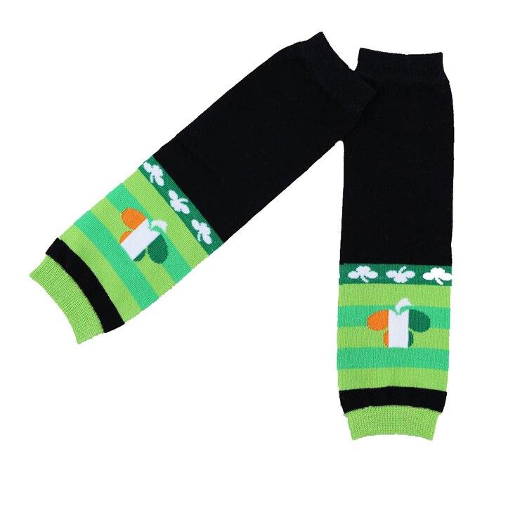 Sale-Casual-Leggings-Leg-Warmers-Baby-New-Arrival-Kids-Winter-Set-For-St-Patricks-Day-Four-Leaf-Design-Leg-Warmer-Infant-5