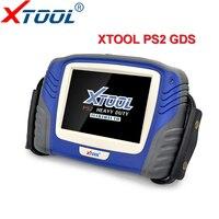 XTOOL грузовик диагностический инструмент PS2 Heavy Duty с Bluetooth бесплатного обновления онлайн X TOOL PS2 грузовик сканер OBD2 сканер Бесплатная DHL корабл