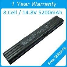 Новые 8 ячеистая для ноутбука Аккумулятор для ноутбука asus A6 G1 Z90 A6G A3F A6L Z83M Z91Ac Z92Ga A3000 Z9100 70-NA51B2000 90-NA51B1000 70R-NIL1B1000T
