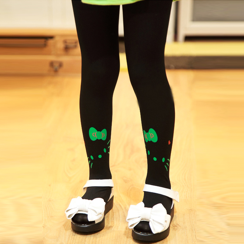 fashion girl leggings pure color ballet dance cute cat print children leggings soft comfort girls legging 3-6 years old magiray magiray clc eye