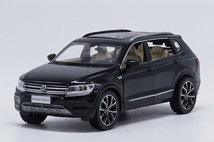Image 5 - 1:32 alloy pull back car toys, high imitation Tiguan L,open door music &flash& toy vehicles, wholesale