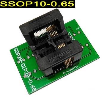 Platforma do nagrywania SSOP10 do DIP10 platforma do programowania TSSOP10 platforma testowa platforma do skoków rozstaw pinów 0 65mm tanie i dobre opinie VIVI OBD-CLUB SSOP10 to DIP10 TSSOP10 pin pitch 0 65mm