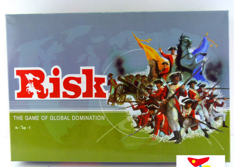 Risk For 2-6Player Strategy Board Game Global Domination War Games Family PartyBoard Games Birthday Present kids English Version ...
