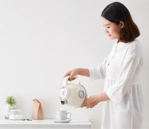 Image 5 - Электрический чайник с контролем температуры, большой емкости 1,7л с часами