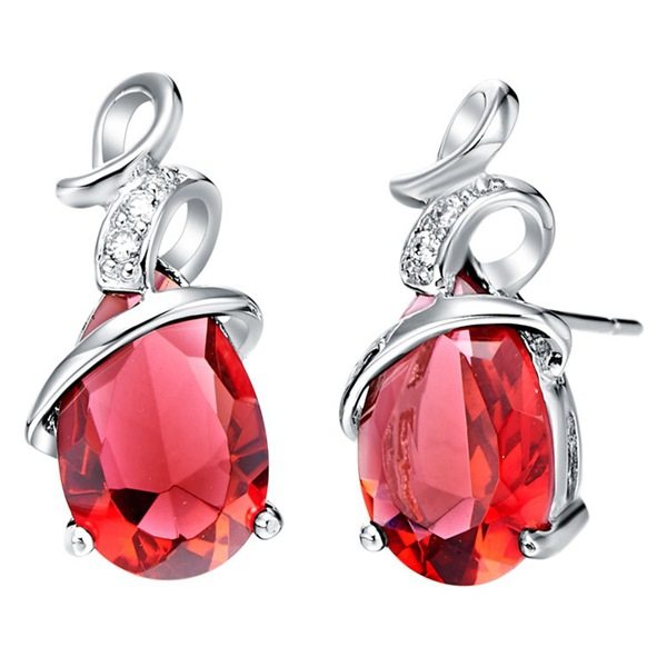 suit 925 sets silver new Pendant necklace Earrings ring trade semi precious stones for women silver jewelry set in Bridal Jewelry Sets from Jewelry Accessories