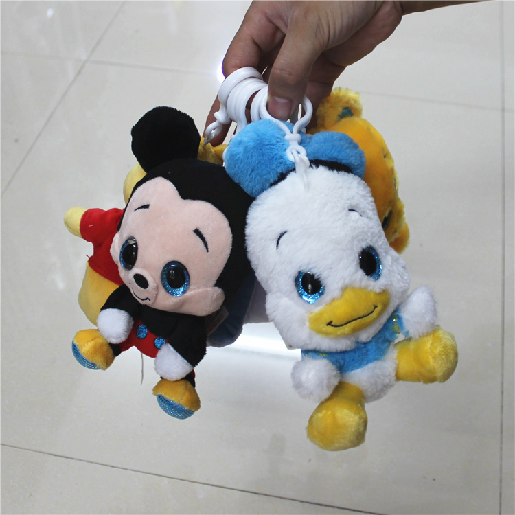 1 piece 15cm bear eeyore mickey donald duck Marie cat Plush Toys Doll For kids Gifts&birthday