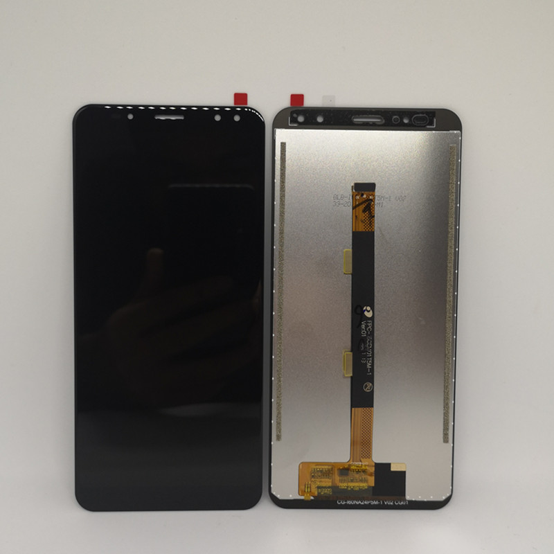 New Original For Vernee X Mobile phone 6 0 inch Black LCD Display Touch Screen Replacement