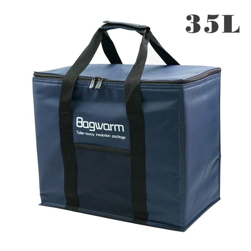 Сумка-кулер 35Л/20л, теплоизоляционная посылка, термос-холодильник, автомобильная упаковка для льда, большие сумки-кулеры для пикника, теплоизоляция