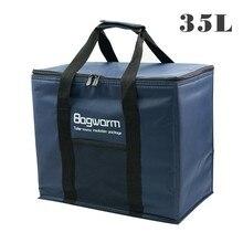 Сумка кулер 35Л/20л, теплоизоляционная посылка, термос холодильник, автомобильная упаковка для льда, большие сумки кулеры для пикника, теплоизоляция