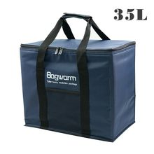 35l/20l saco térmico pacote de isolamento térmico refrigerador geladeira carro gelo pacote piquenique grande isolado térmico