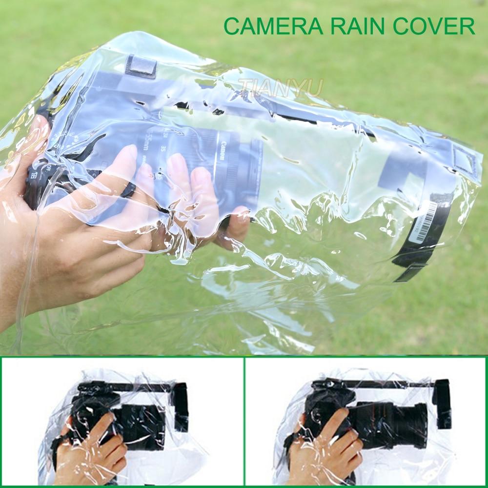 Professional Camera Rain Cover Coat Bag Protector Rainproof Waterproof Against Dust for Canon Nikon Pendax DSLR SLR