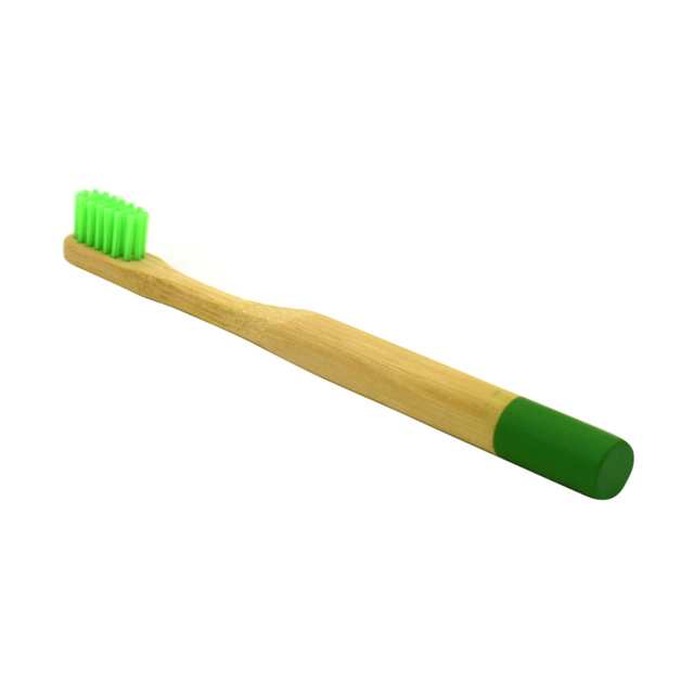 Green Bamboo Tooth Brush
