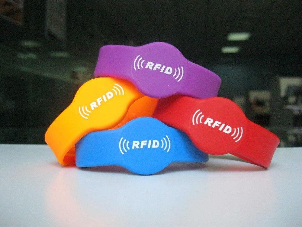 125khz RFID T5577 Pulsera Tarjeta de escritura Pulsera RFID Copia Tarjeta de clonación