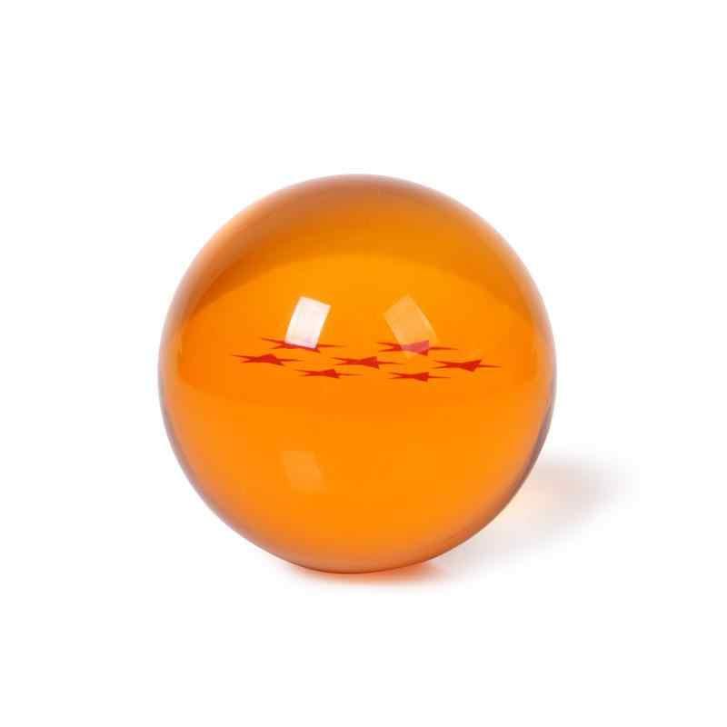 7 см Новый в коробке Японии Аниме Драконий жемчуг: 7 Звезд Хрустальный шар Star Dragon Ball Z резиновый Материал Бесплатная доставка