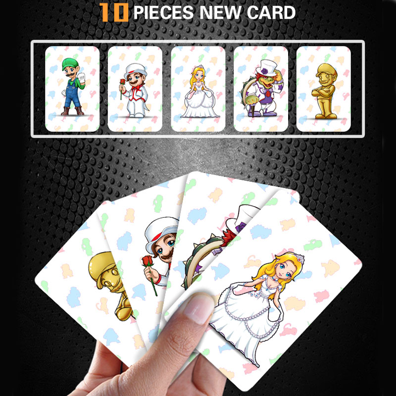 Latest Data NEW Super Mario Odyssey 10 pieces / lot Ntag215 Printed NFC Card Written by Tagmo Work For NS Switch Game 11 pieces splatoon 2 full set nfc card neon purple inkling squid boy and girl sisters callie and marie for switch ns