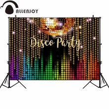 Allenjoy фон для фотосъемки класса люкс диско вечерние Декор баннер фон для фотосессий студийной съемки портретный по индивидуальному заказу