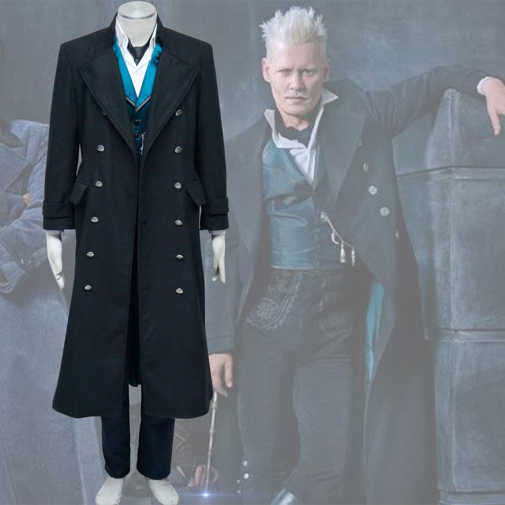 Gellert Grindelwald Cosplay Costume Halloween Costumes Cosplay Fantastic Beasts The Crimes of Grindelwald Costume Custom made