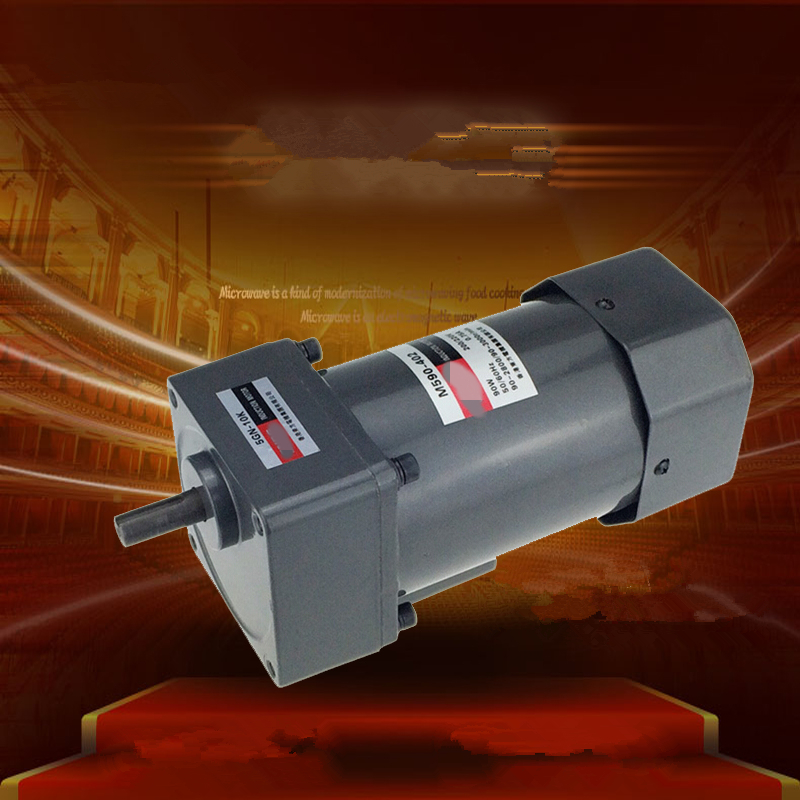 Three-Phase 220V 380V Single Phase 220V AC Vertical Micro Gear Motor Governor 90W M590 Adjustable speed High Torque серьги гвоздики divetro 8 марта женщинам