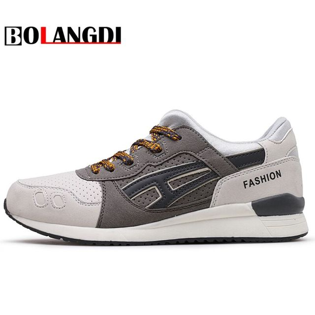 Bolangdi 2017 New Men Running Shoes For Men's Breathable Sport Run Autumn Super Light Outdoor Athletic Shoes Brand Man Sneakers