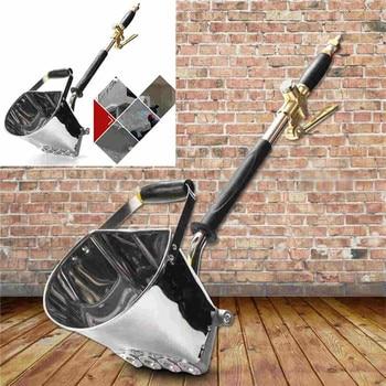 4-5L Mortar Sprayer Wall Gun Stucco shovel Hopper Ladle Cement Spray Air sprayer Plaster