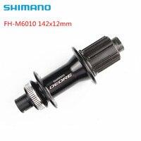 SHIMANO Deore M6010 MTB горный велосипед через 142*12 мм сзади концентратор 32 отверстия для Центр замок дискового тормоза Freehub 32 h FH-M6010