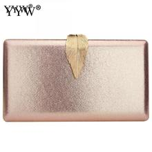 2019 Elegant Evening Clutch Purse Famous brand Box Bag With Chain Shoulder Crossbody Bags For Women Clutches Gold sac a dos цена в Москве и Питере